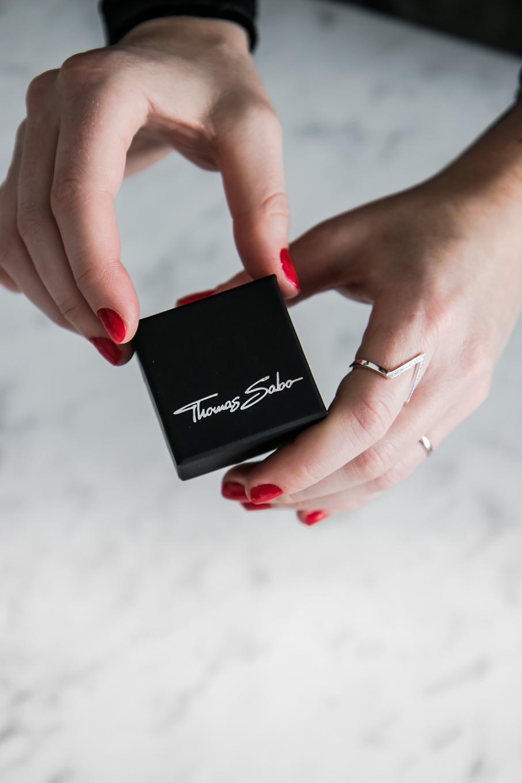 Thomas Sabo Ring  Diamant Ring  Dreieck Ring  Sparkling Gifts