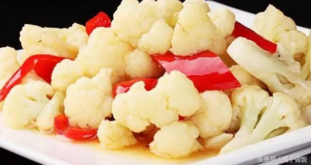 原來白花椰菜還有這麼多美味的做法。特別簡單還入味。越吃越想吃。收藏了