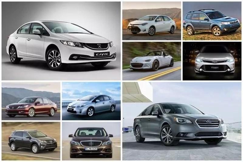 這些車都可以開 10 年以上!車商選出c/p值..可靠性超優異的 10 款車