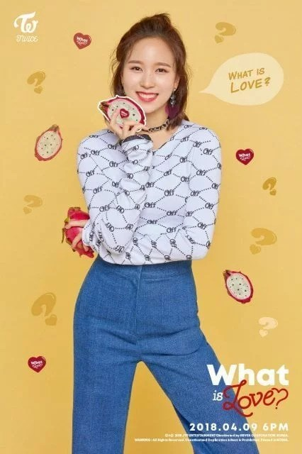 What is Love ティザー画像ミナ