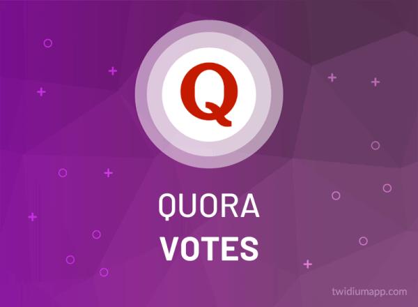 Buy Quora Votes