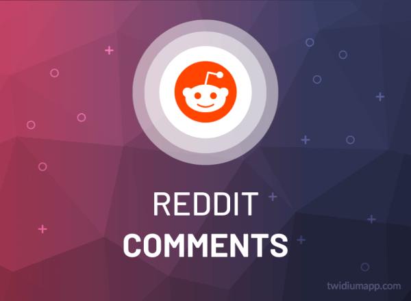 Buy Reddit Comments
