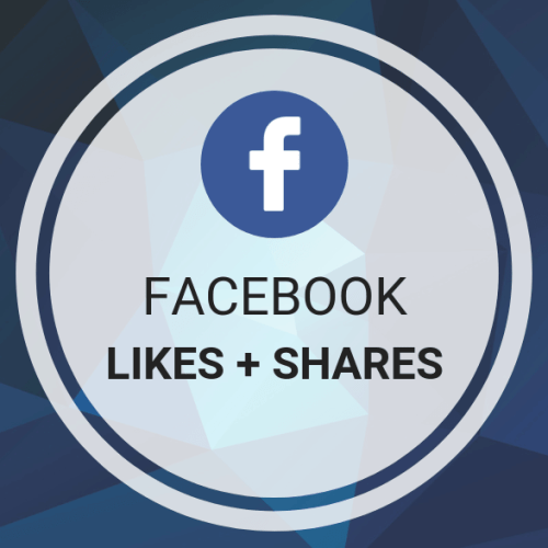 Facebook Likes + Shares
