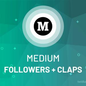 Buy Medium Followers + Claps