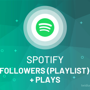 Buy Spotify Followers (Playlist) + Plays (Streams)