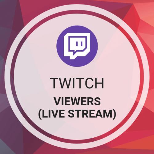 Twitch Viewers (Live Stream)
