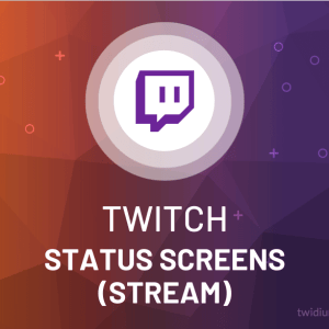 Buy Twitch Status Screens (Stream)
