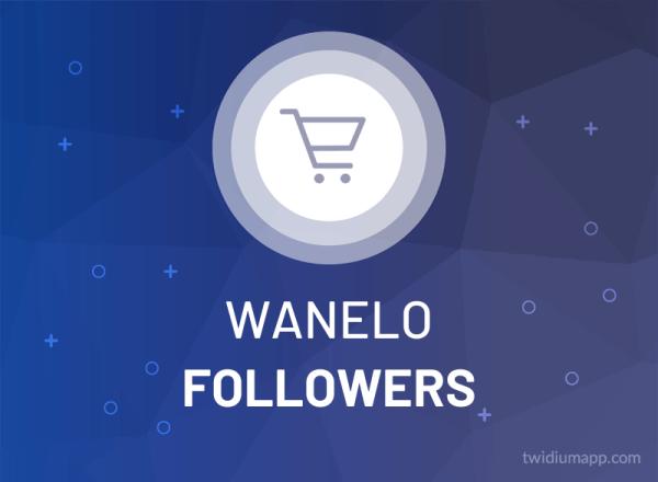 Buy Wanelo Followers