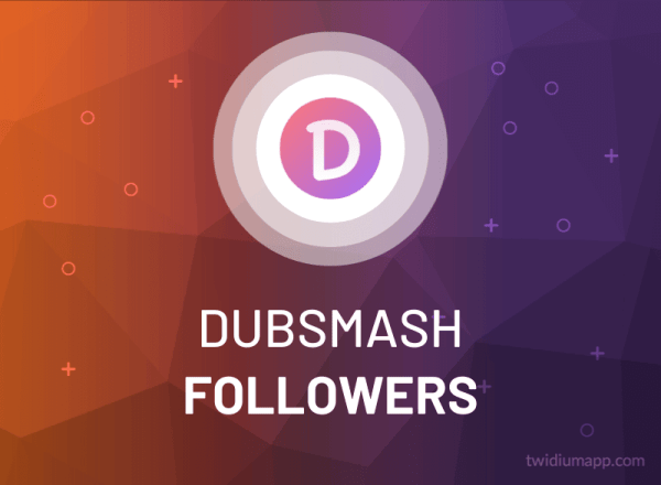 Buy Dubsmash Followers