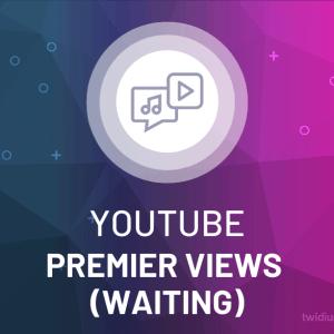 Buy YouTube Premiere Views (Waiting)