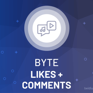 Buy Byte Likes + Comments