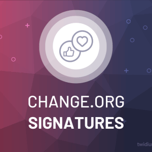 Buy Change.org Signatures