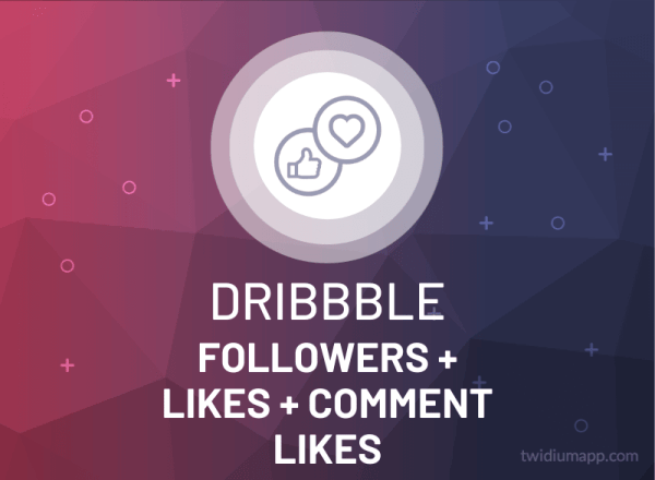 Buy Dribbble Followers, Likes & Comment Likes