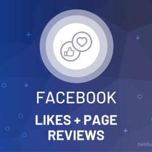 Buy Facebook Likes + Page Reviews