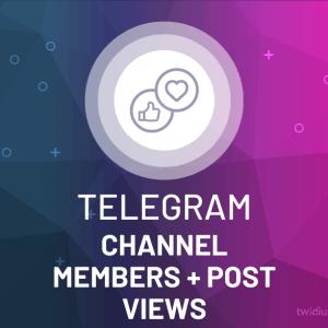 Buy Telegram Channel Members & Post Views