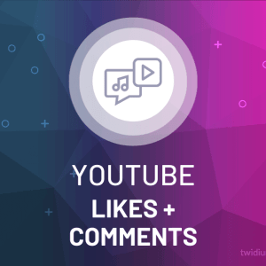 Buy YouTube Likes + Comments