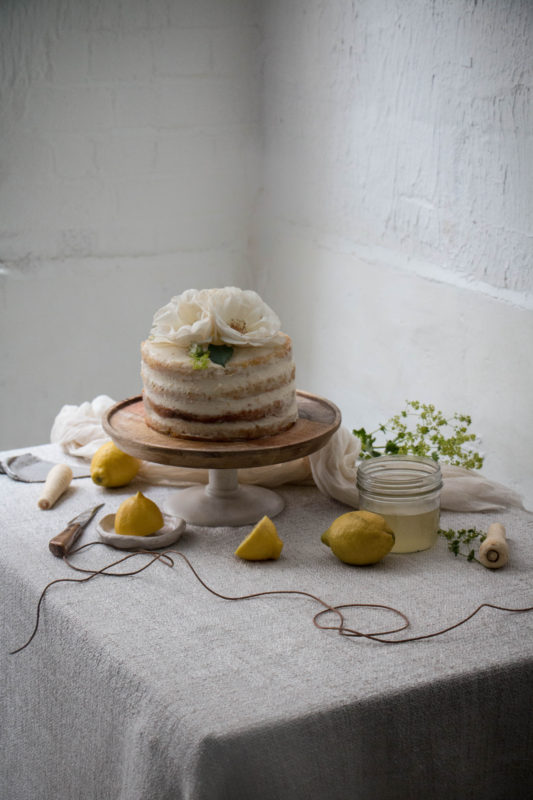 kitchen aide mixer lowes white sink lemon and parsnip cake with elderflower syrup ...