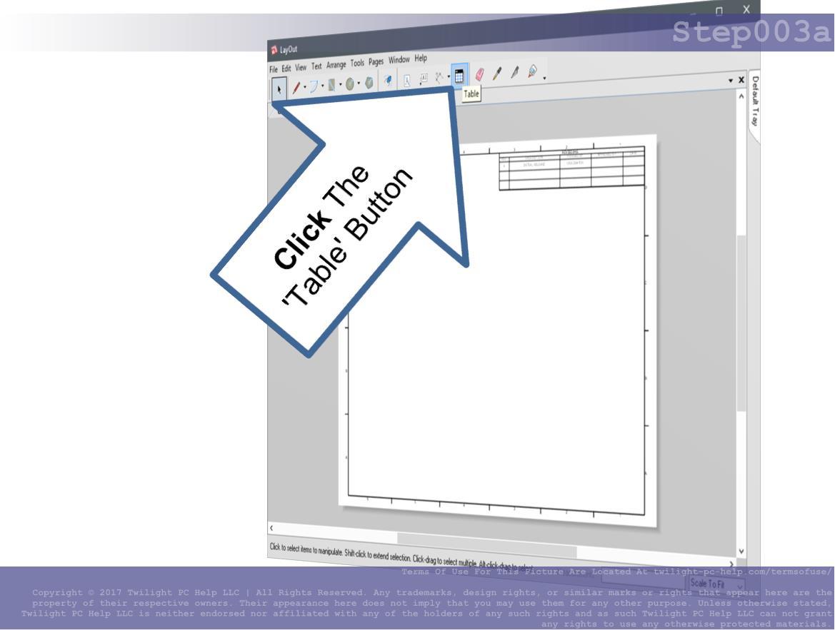 Sketchup Layout Title Block