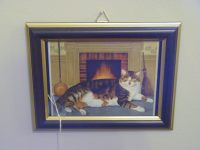 Cat Fireplace Picture