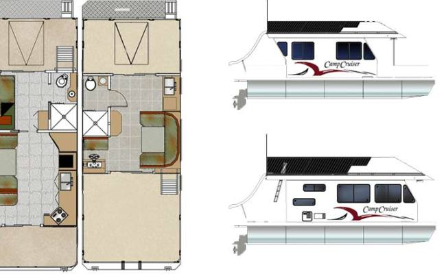 Custom Houseboat Sales And Manufacturing Floorplans