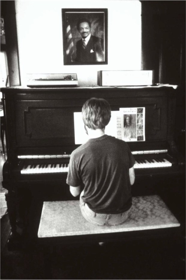 Henningson sits alone in the farmhouse parlor, where he and Hanson often sang duets. Henningson now owns the house and surrounding 40 acres. (Pioneer Press: Jean Pieri)