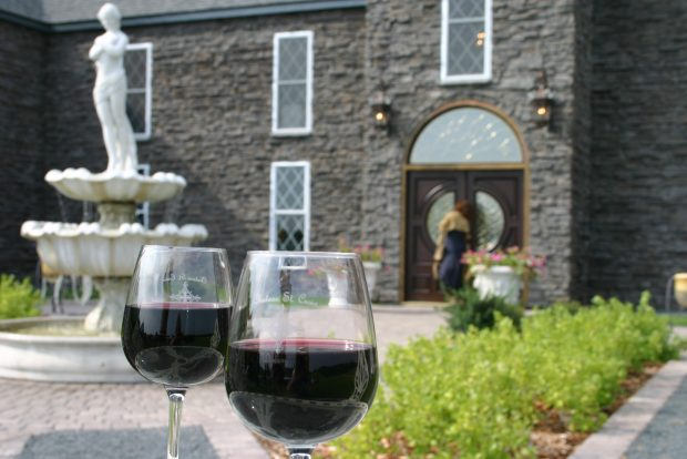 Chateau St. Croix emulates the atmosphere of a European winery. (Beth Gauper / Pioneer Press)