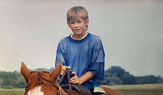 Eleven-year-old Jacob Wetterling, on a horseback riding excursion, circa summer 1989, before he was abducted and kidnapped near his St. Joseph home. (Photo courtesy Patty and Jerry Wetterling)