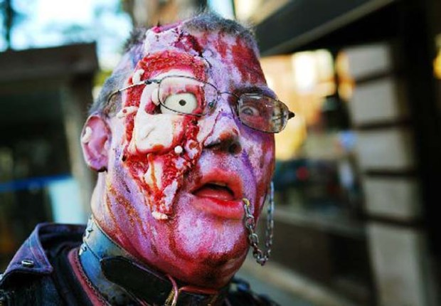 Zombie Pub Crawl in Minneapolis. (Pioneer Press file photo: Ben Garvin)