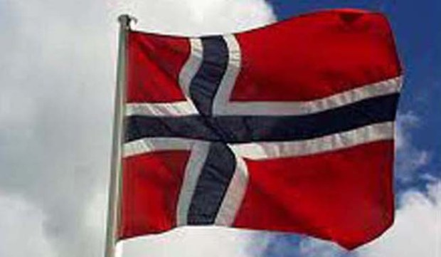 The flag of Norway. (Pioneer Press archives)