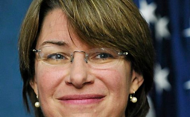 Making A List Amy Klobuchar Is Probably On It