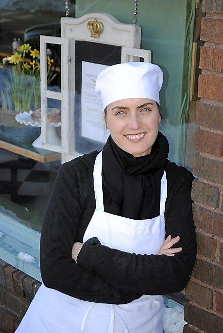 Eva Sabet, co-owner and head baker at Swedish Crown Bakery in Anoka. (Courtesy photo)