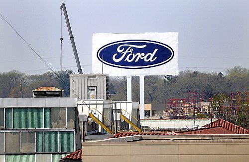The Ford plant in St. Paul's Highland Park neighborhood, Tuesday, May 10, 2011. (Pioneer Press: Chris Polydoroff)