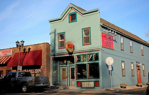 Exterior of the Ward 6 Food & Drink Eastside, on Payne Avenue in St. Paul, Friday, March 1, 2013. (Pioneer Press: John Autey)