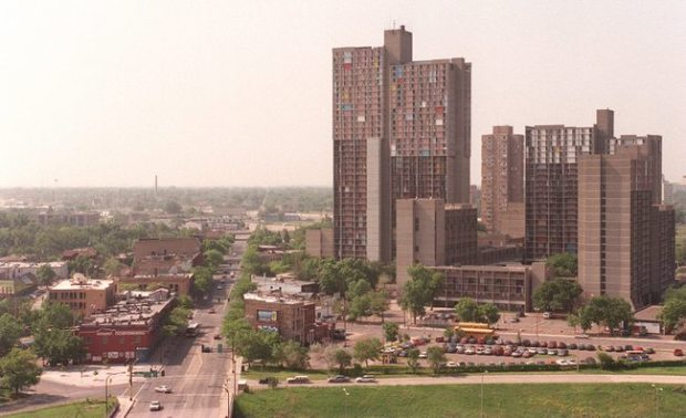 Riverside Plaza high rise apartments in Minneapolis. (Pioneer Press file)