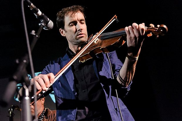 NEW YORK, NY - MAY 01: Musician Andrew Bird performs live at 'A Night Of Improvised Round Robin Duets' during the 2013 Red Bull Music Academy at Brooklyn Masonic Temple on May 1, 2013 in the Brooklyn borough of New York City. (Photo by Matthew Eisman/Getty Images)