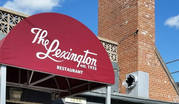 Work on the Lexiington Restaurant on Grand Avenue in St. Paul continues. (Courtesy Todd Walker)
