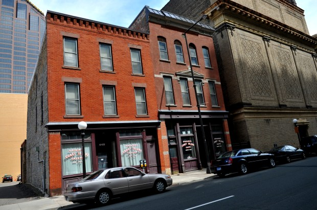 The Coney Island Building on St. Peter Street in downtown St. Paul on April 28, 2011. (Pioneer Press: John Doman)