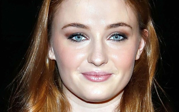 """English actress Sophie Turner of -- Sansa Stark in """"Game of Thrones"""" -- is 20. (Getty Images: Cindy Ord)"""