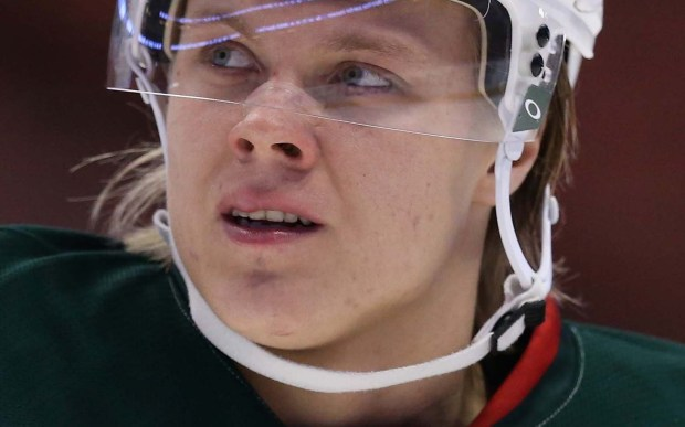Minnesota Wild center Mikael Granlund is 24. (Getty Images: Jeff Gross)