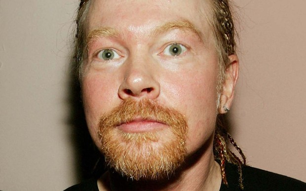 Vocalist Axl Rose of Guns N' Roses is 54. (Getty Images: Evan Agostini)