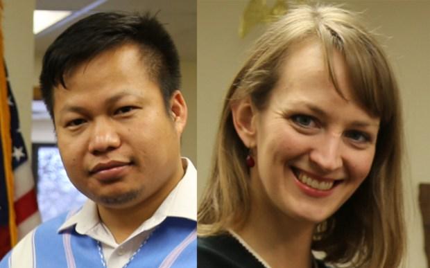 Eh Tah Khu and Alexis Walsta (Courtesy of Rebekah Jacobson, Karen Organization of Minnesota)