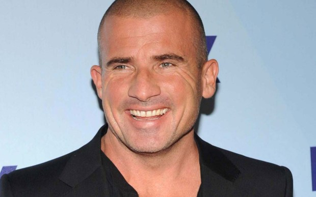 """Actor Dominic Purcell of """"Prison Break"""" is 46. (Getty Images: Brad Barket)"""