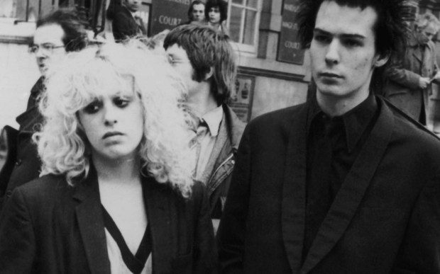 Notorious punk rock girlfriend Nancy Spungen, left, was born on this day in 1958. She was murdered in 1978, possibly at the hands of her boyfriend, ex-Sex Pistols bassist Sid Vicious, who died the following year. (Daily Express/Hulton Archive/Getty Images)