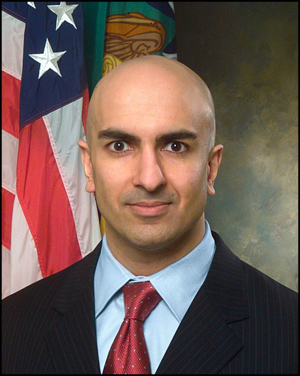 In this undated photo provided by the U.S. Treasury Department, of Treasury Department Assistant Secretary Neel Kashkari. Kashkari has been selected to head the Treasury's new Office of Financial Stability. (AP Photo/U.S. Treasury Dept., Chris Taylor)