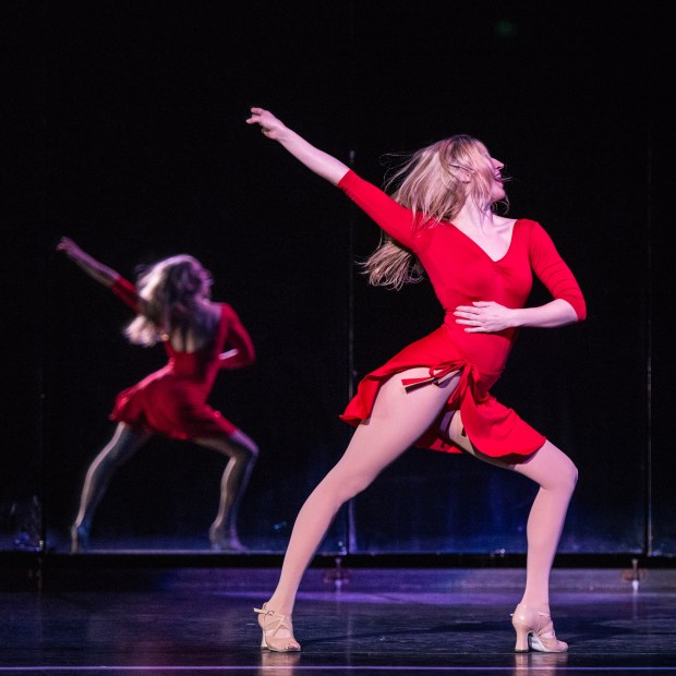 """Molly Tynes as Cassie in the Ordway's produciton of """"A Chorus Line."""" (Rich Ryan)"""