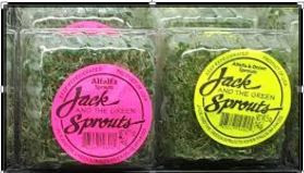 The Minnesota Department of Health said Wednesday, Feb. 24, 2016, that consumers should not eat alfalfa sprouts from Jack & The Green Sprouts of River Falls, Wis., after several E. coli cases were linked to the sprouts. (Courtesy of the Minnesota Department of Health)