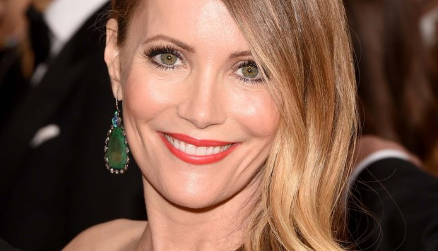 "Actress Leslie Mann — whose husband, Judd Apatow, is smart enough to cast in most of his movies — is 44. ""This is 40,"" ""Knocked Up,"" and ""The 40-Year-Old Virgin"" are among her credits. She's also the voice of Patty Peterson in ""Mr. Peabody & Sherman."" (Getty Images: Jason Merritt)"