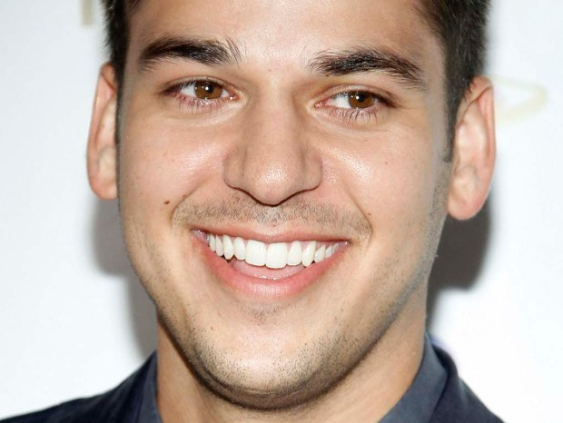 Reality-TV personality Rob Kardashian is 29. (Getty Images: Isaac Brekken)