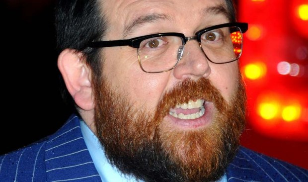 "Actor Nick Frost of ""Hot Fuzz"" and ""Shaun of the Dead"" is 44. (Getty Images: Anthony Harvey)"