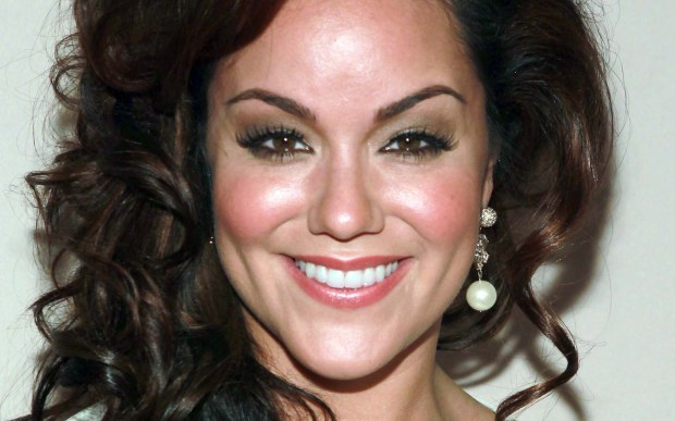 "Actress Katy Mixon of ""Mike and Molly"" is 35. (Photo by Underwood/Invision for the Academy of Television Arts & Sciences/AP Images)"